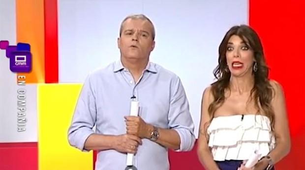 Ramón García y Gloria Santoro en «En compañía»