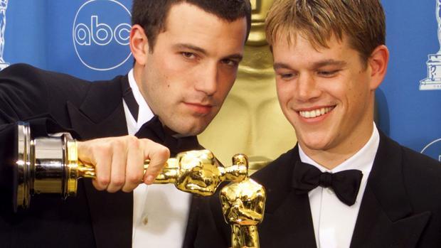 Affleck y Damon ya ganaron el Oscar a mejor guión por «El indomable Will Hunting» hace veinte años