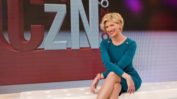 Anne Igartiburu, presentadora de «Corazón»
