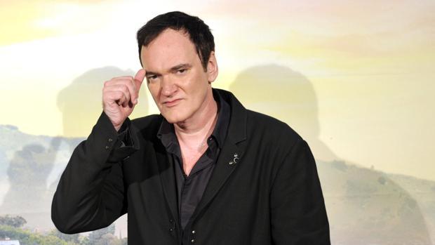 El director Quentin Tarantino, durante la presentación de su última película