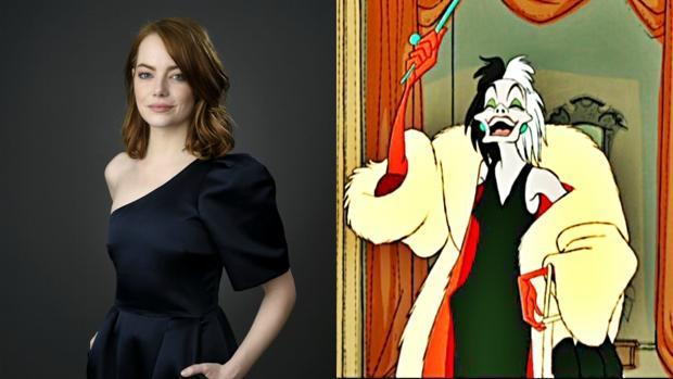 Emma Stone será Cruella de Vil en el live-action de Disney