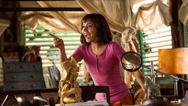 Isabela Moner interpreta a la intrépida exploradora