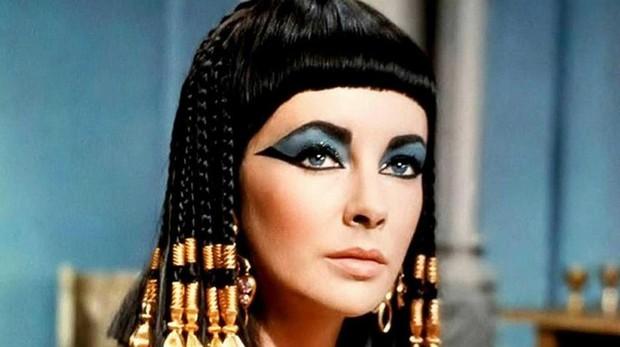 Elizabeth Taylor en «Cleopatra» (1963)