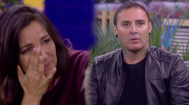 Irene Junquera rompió a llorar tras las palabras de Dinio en GH VIP