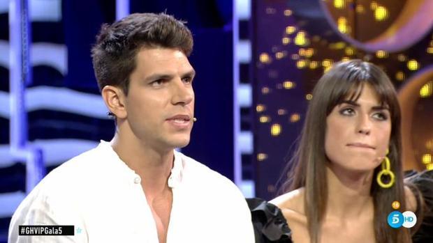 Diego Matamoros, junto a Sofía Suescun en «GH VIP»