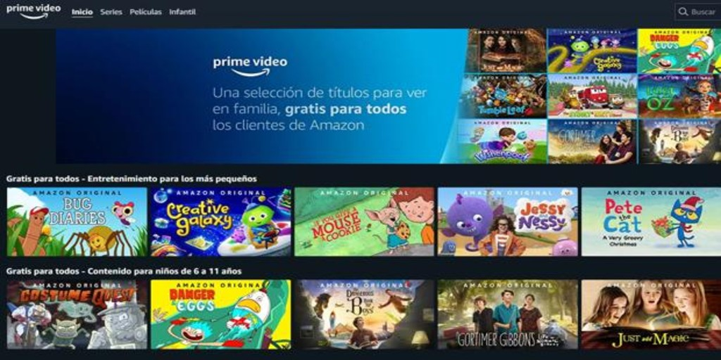 Amazon Prime Video Offers Free Series And Movies For Kids Archyde