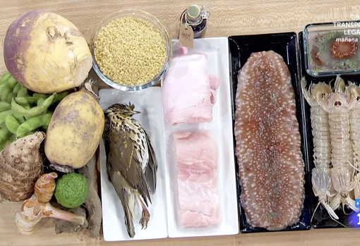 The exotic ingredients of the final test