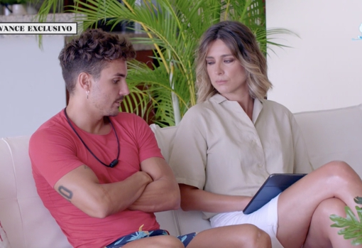 Sandra Barneda comunicó a Manuel que su novia quiere una hoguera de confrontación