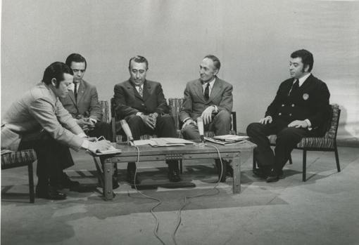 'Tico' (derecha) también creó junto a 'Yale' el programa de entrevistas de TVE 'Alta tensión'