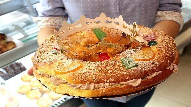 Roscón de Reyes de La Casa de las Tartas en Chiclana. | R. ARRIBAS