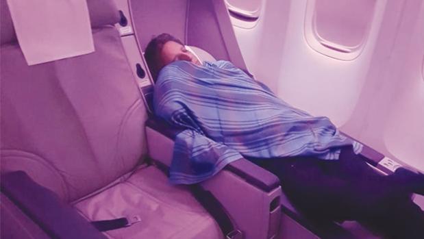 El piloto que se quedó dormido en pleno vuelo