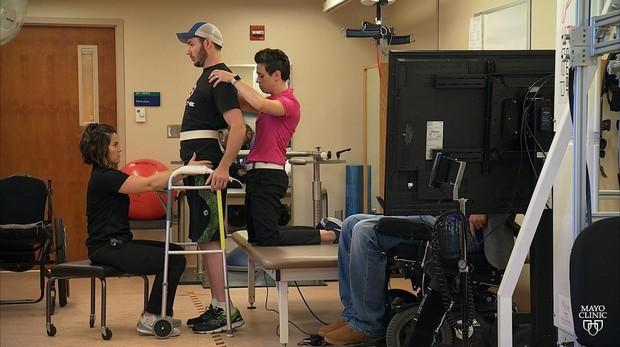 Imagen del proceso de recuperación del paciente