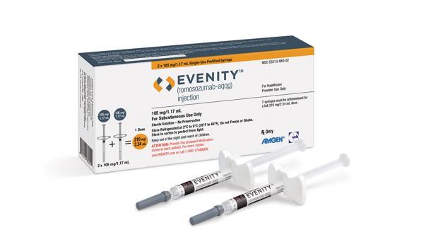 Evenity es el nuevo fármaco aprobado por la FDA para la osteoporosis