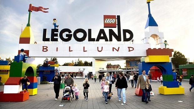 Parque temático Legoland en Billund (Dinamarca)