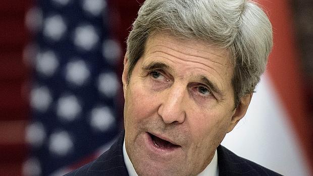 El secretario de Estado americano, John Kerry