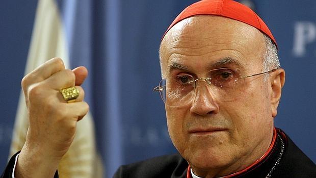 El cardenal Tarcisio Bertone, exsecretario de Estado vaticano