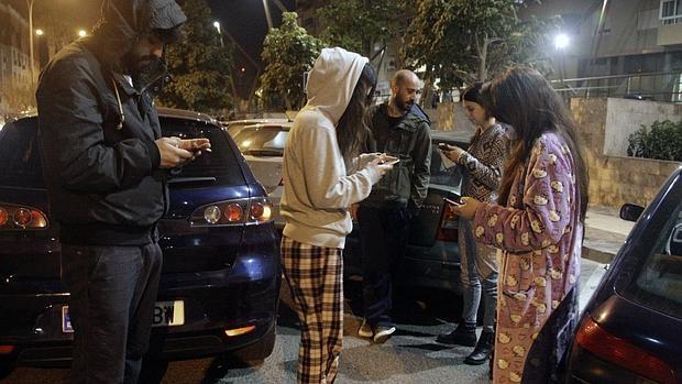 Vecinos de Melilla bajaron a la calle en pijama por el terremoto