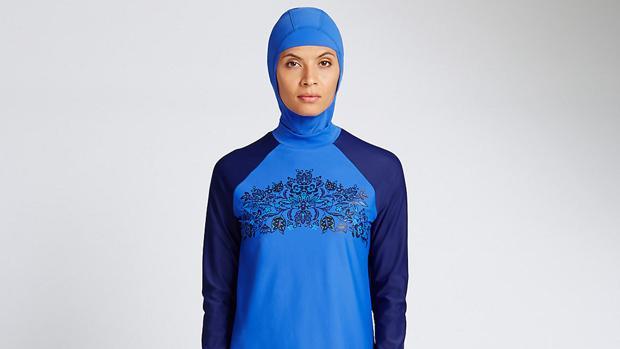 Los simpatizantes del «burkini» prefieren llamarlo «bañador islamico»