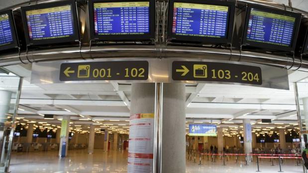 La demandante trabaja en el aeropuerto de Son Sant Joan