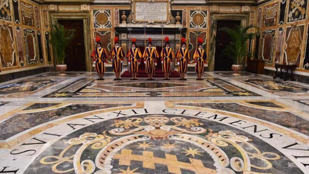 La Guardia suiza se creó en 1506 para custodiar al Papa
