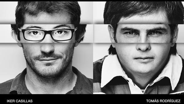 Iker Casillas y Tomás Rodríguez, protagonistas de la campaña