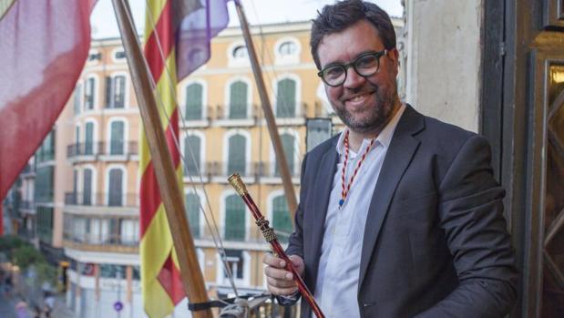 Antoni Noguera, alcalde de Palma