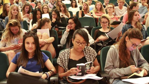 Estudiantes Erasmus en España