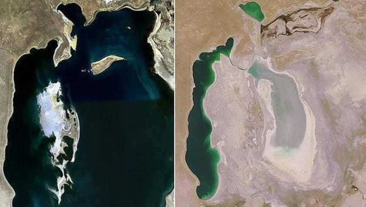Aral, el mar que secó la Unión Soviética y que ahora trata de volver a la vida