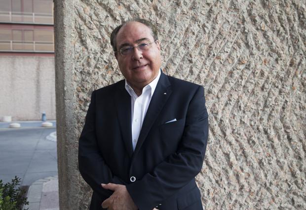 Miguel Ángel Escotet posa para ABC