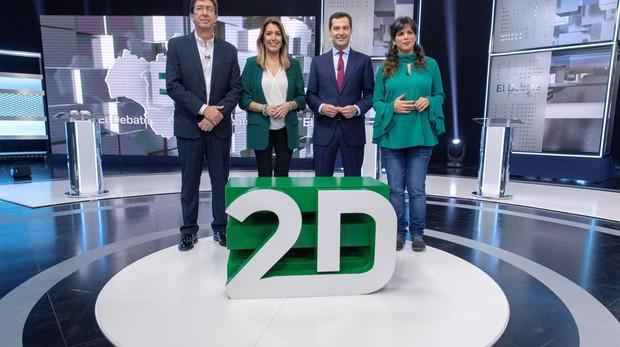 El pasado 19 de noviembre tuvo lugar el primer debate electoral andaluz