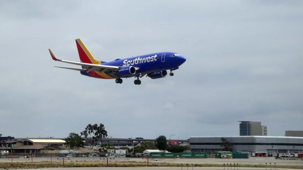 Un vuelo de la compañía Southwest