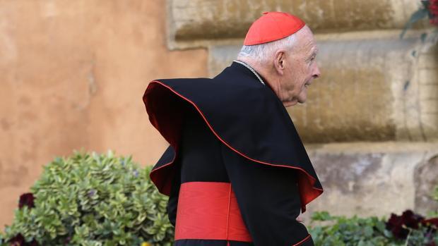 El excardenal Theodore McCarrick, en una imagen de 2013