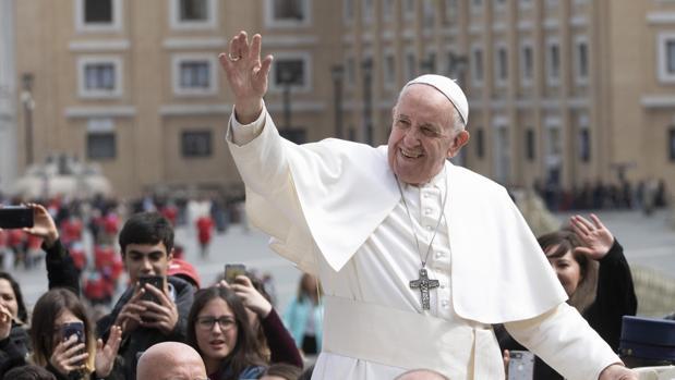 El Papa Francisco, el miércoles
