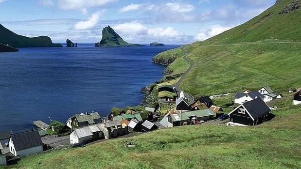 Paisaje de las Islas Feroe