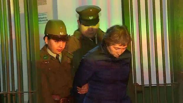 La mujer detenida