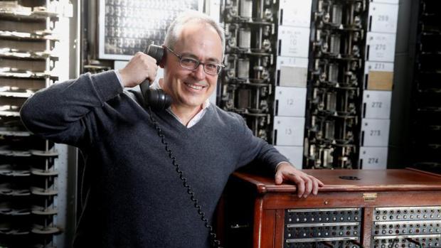 El ingeniero español Ángel Cabrera