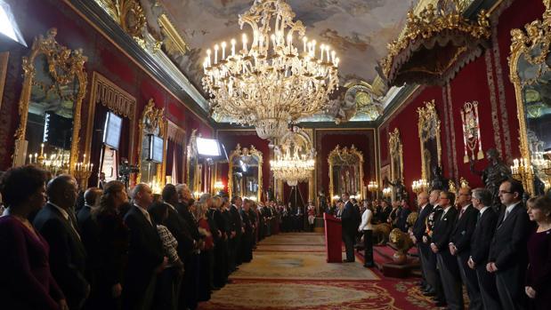 Recepción anual al cuerpo diplomático acreditado en España