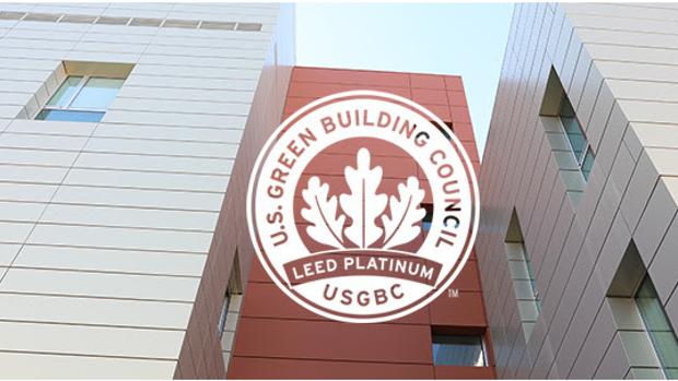 Certificado ortogado por el Consejo de la Construcción Verde de Estados Unidos