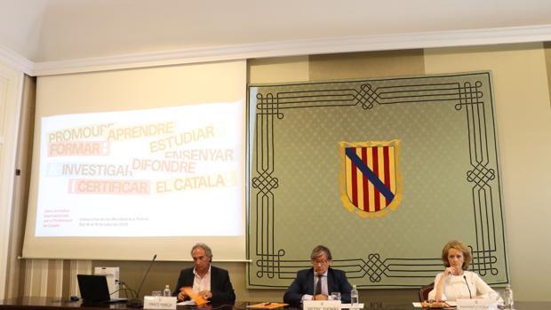 La inauguración de '33 Jornadas internacionales para profesores de catalán