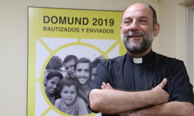 El director de las Obras Misionals Pontificias (OMP) de España, José María Calderón