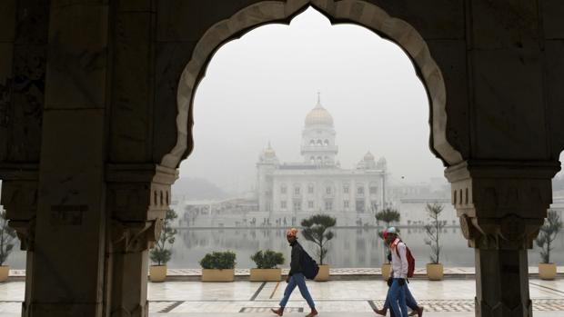 En casi 60 años, Nueva Delhi registra temperatura más fría en octubre