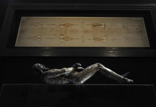Reconstrucción de la imagen de la Síndone por el artista José Manuel Miñarro López