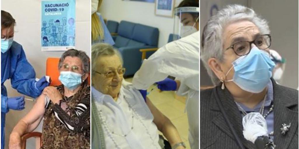 Los ancianos y sus cuidadores empiezan a recibir la segunda dosis de la vacuna: «Es maravilloso»