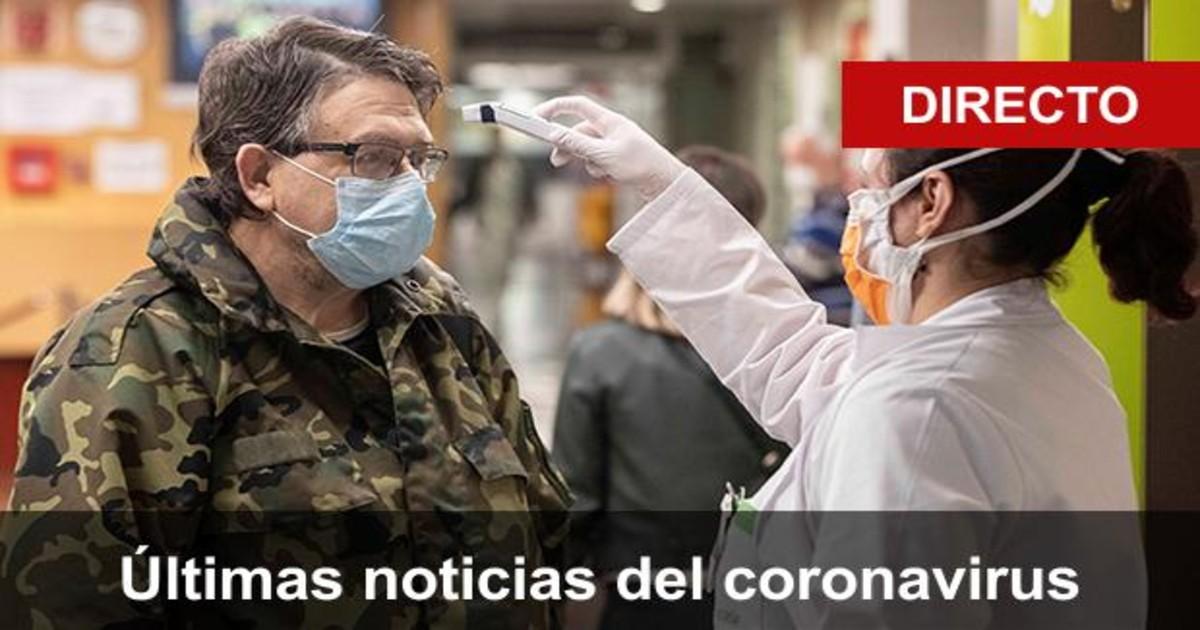 Coronavirus España Directo Sanidad Notifica 20 849 Nuevos Contagios Y 535 Fallecidos Desde El Viernes