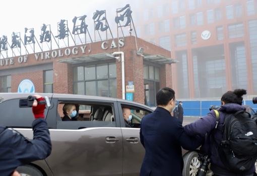 La misión de la OMS también visitó el polémico Instituto de Virología de Wuhan, de donde Estados Unidos y algunos científicos sospechan que se escapó el Sars-CoV-2