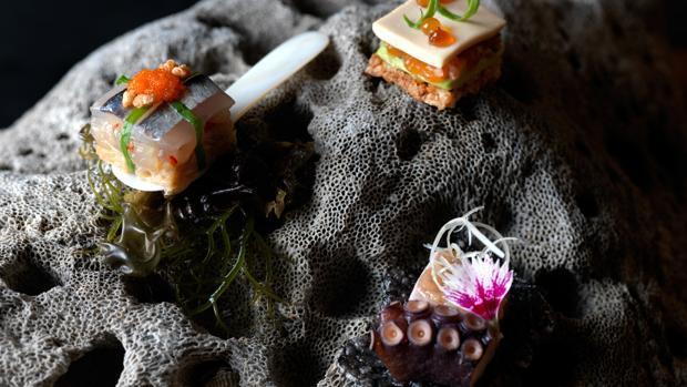 Snacks del Restaurante Maido