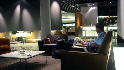 Zona VIP Welcome Lounge de Lufthansa en Frankfurt