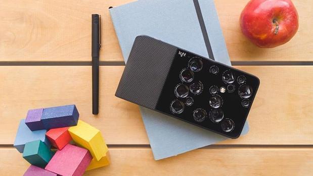 El dispositivo, con sus 16 lentes