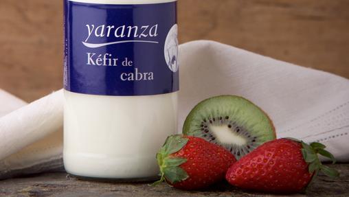 El Kéfir de Yaranza se elabora con leche de cabra, entera o desnatada