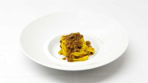La sala de Osteria Francescana / Tagliatelle al ragù